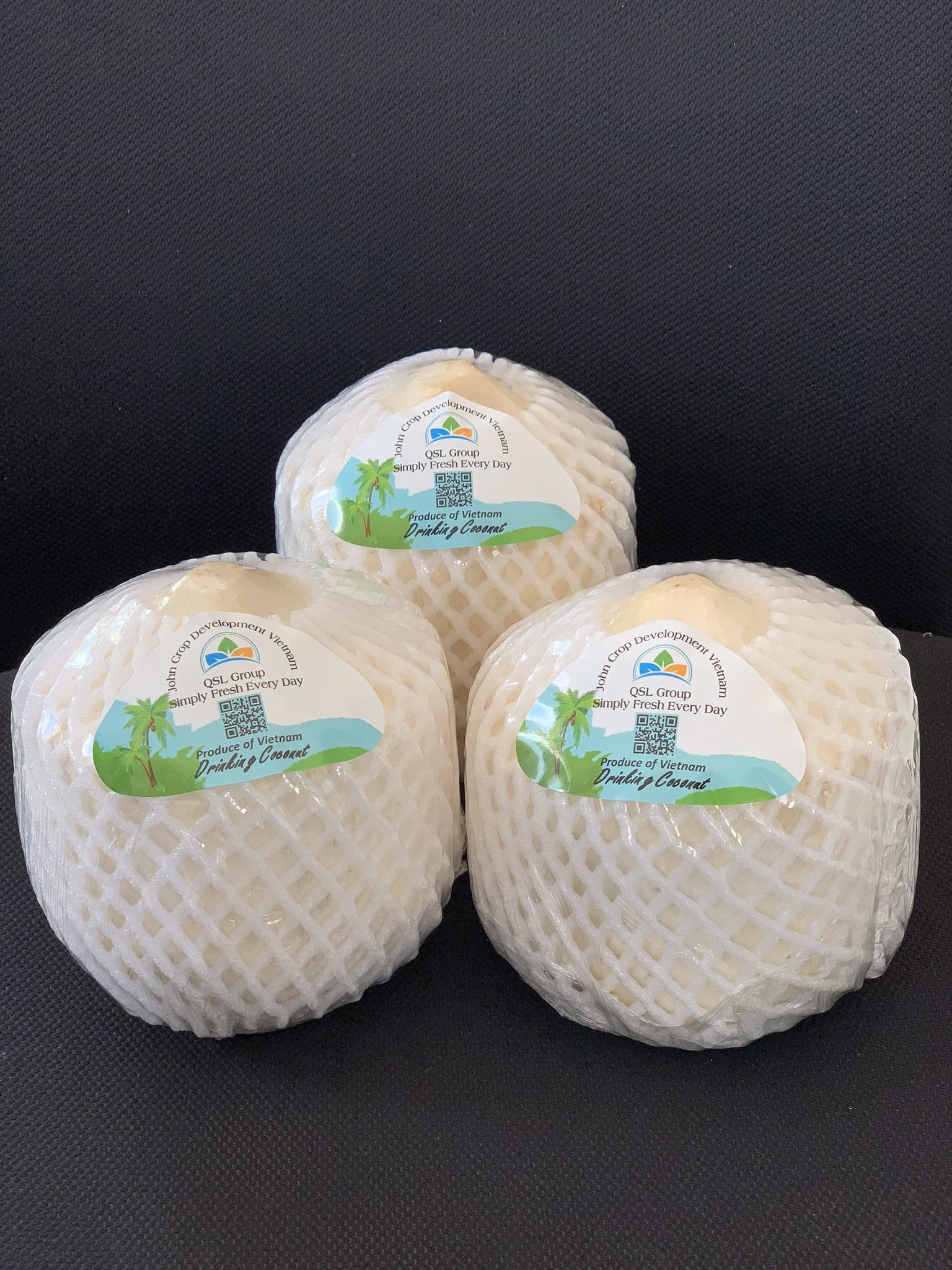 Diamond Cut Coconuts